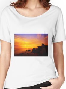 Sunset and Fire Women's Relaxed Fit T-Shirt