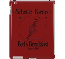 Schrute Farms B&B iPad Case/Skin