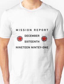Mission Report Unisex T-Shirt