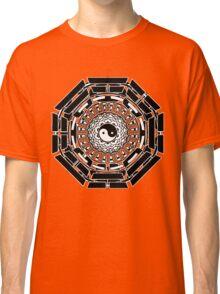 Mandala Yin Yang (black) Classic T-Shirt