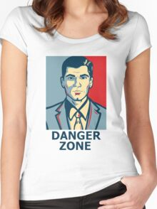 Sterling Archer - Adult Swim Archer Women's Fitted Scoop T-Shirt