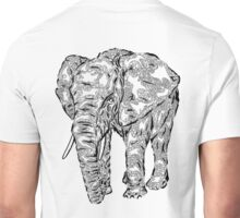 """Elephant Spirit"" version1 - surreal tribal totem animal Unisex T-Shirt"