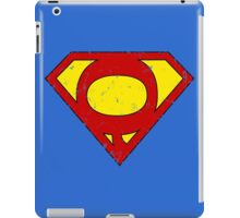 Superman Q Letter iPad Case/Skin