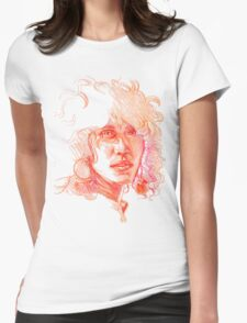 Colorful Woman Womens Fitted T-Shirt