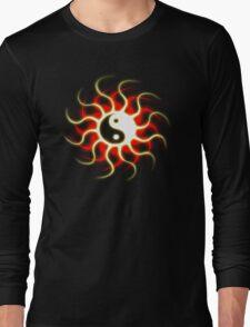 Yin Yang Sun Long Sleeve T-Shirt