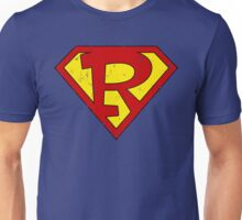 Superman R Letter Unisex T-Shirt