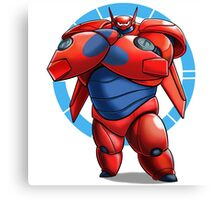 Baymax Big Hero 6 Canvas Print