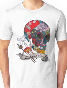 Japanese Sugar Skull Unisex T-Shirt
