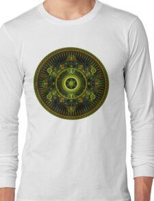 Metatron's Magick Wheel ~ Sacred Geometry Long Sleeve T-Shirt