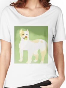 Pit Bull Fetch. Women's Relaxed Fit T-Shirt