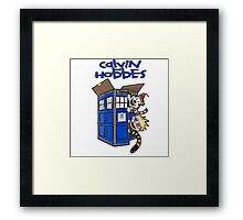 Calvin And Hobbes Fun Framed Print