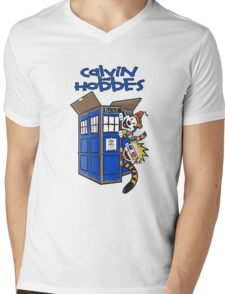 Calvin And Hobbes Fun Mens V-Neck T-Shirt