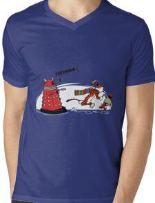 Calvin And Hobbes Adventure Mens V-Neck T-Shirt