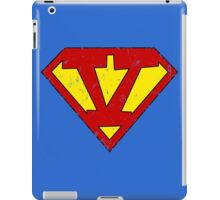 Superman V Letter iPad Case/Skin
