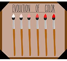 Evolution of Color Photographic Print