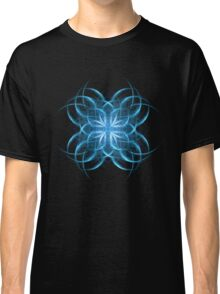 Tribal Ice - Fractal Art Design Classic T-Shirt