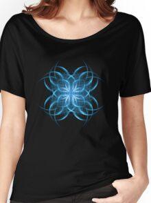 Tribal Ice - Fractal Art Design Women's Relaxed Fit T-Shirt