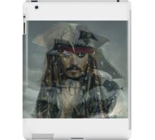 Captain Jack Sparrow and the Black Pearl iPad Case/Skin
