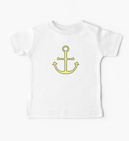 Summer Anchor Baby Tee