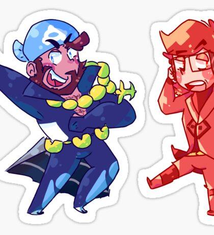 Maxie and Archie Sticker Set Sticker