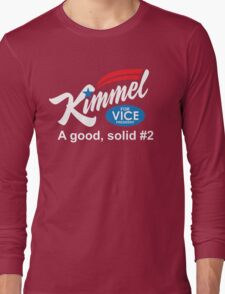 jimmy kimmel vice president Long Sleeve T-Shirt
