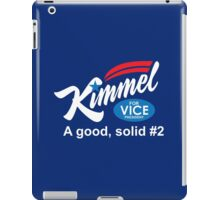 jimmy kimmel vice president iPad Case/Skin