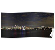 Sydney Lights Up Poster