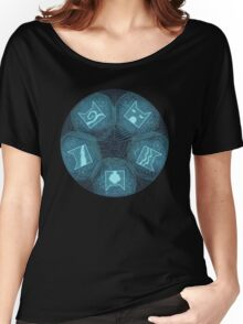 Warriors - Five Giants Wheel Women's Relaxed Fit T-Shirt