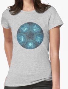 Warriors - Five Giants Wheel Womens Fitted T-Shirt