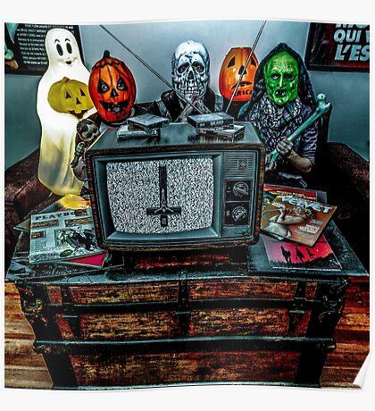 Halloween III - Say You Love Satan 80s Horror Podcast Poster