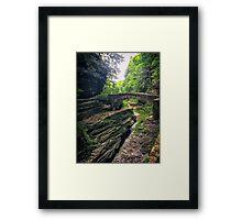 Robert Treman Bridge Framed Print