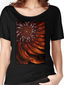 Solar Waves - Abstract Fractal Art Women's Relaxed Fit T-Shirt