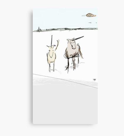 spear-it animals  Canvas Print