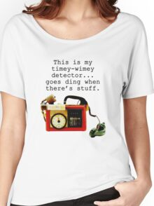 Doctor Who, This is My Timey-Wimey Detector... Women's Relaxed Fit T-Shirt