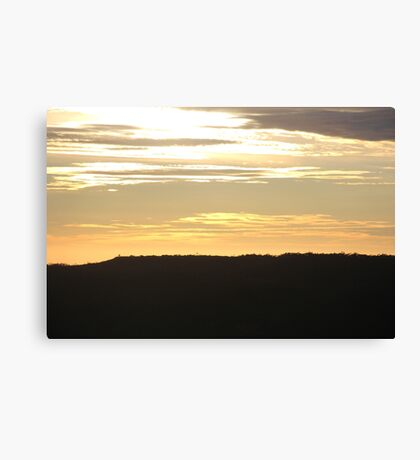 Golden Skies Canvas Print