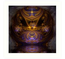 Meeting Highest Wisdom Art Print