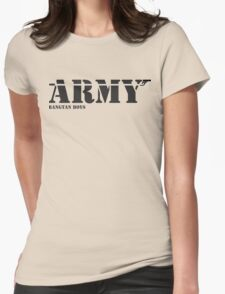 ARMY Bangtan Boys Womens Fitted T-Shirt