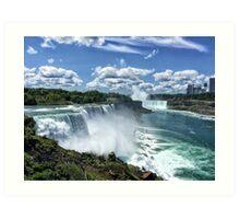 American Falls I Art Print