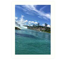 Niagara River Art Print