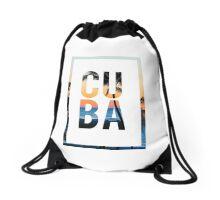 CUBA Drawstring Bag