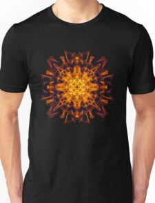 Energetic Geometry - Abstract Solar Power Symbol Unisex T-Shirt
