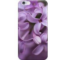 Bunch of tiny purple flowers iPhone Case/Skin