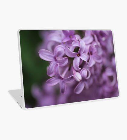 Bunch of tiny purple flowers Laptop Skin