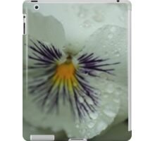 White and Purple Flower iPad Case/Skin