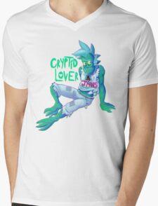 Cryptid Lover Mens V-Neck T-Shirt