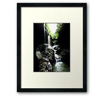 Watkins Glen Gorge I Framed Print