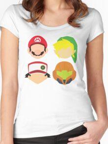 Nintendo Greats Women's Fitted Scoop T-Shirt