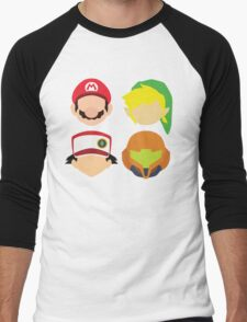 Nintendo Greats Men's Baseball ¾ T-Shirt