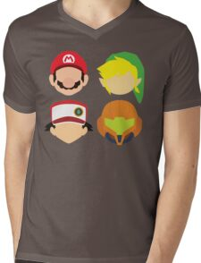 Nintendo Greats Mens V-Neck T-Shirt