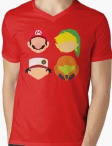 Nintendo Greats Mens V-Neck T-Shirt
